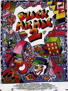 """Affiche du film français """"Black Mic Mac 2"""", de Marco Pauly (1988)"""