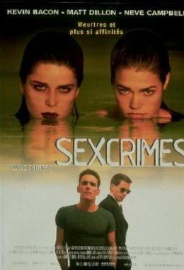 """Affiche du film états-unien """"Sexcrimes"""", de John MacNaughton (1998)"""
