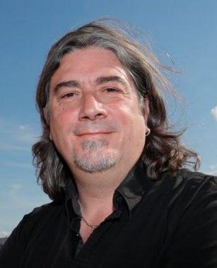 Le journaliste sportif français Bernard Lions