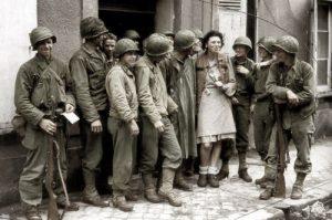 """Les """"boys"""" ou soldats états-uniens de la Seconde Guerre mondiale"""