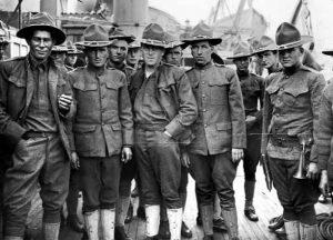 """Les """"boys"""" ou soldats états-uniens de la Première Guerre mondiale"""