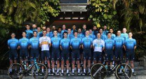 L'écurie cycliste Astana