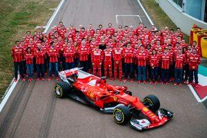 L'écurie de F1 (Formule 1) Ferrari