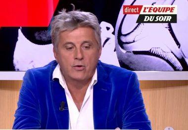 """L'ancien joueur de rugby à XV et consultant sportif français Éric Blanc, cofondateur de la marque de vêtement """"Eden park"""""""