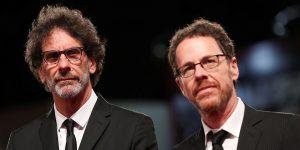 Les frères états-uniens producteurs, scénaristes et réalisateurs Joel et Ethan Coen