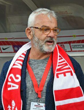 L'ancien joueur de football international français Olivier Rouyer