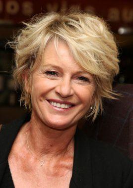 La présentatrice française Sophie Davant