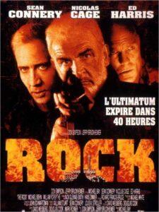 """Affiche du film états-unien """"Rock"""" de Michael Bay (1996)"""