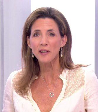 """La journaliste politique française Alix Bouilhaguet"""""""