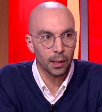 L'ancien athlète et consultant sportif français Bob Tahri