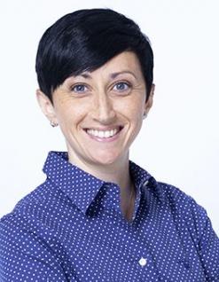 La journaliste sportive française Candice Rolland