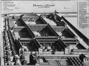Hôpital de la Charité, à Lyon (69)