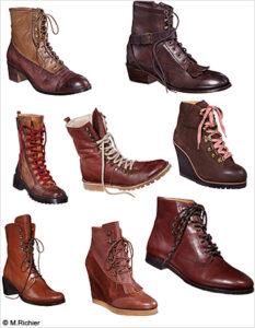 Des chaussures (© M. Richier)