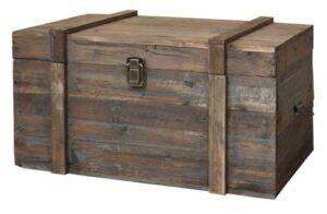 """Un bahut"""", c'est à dire, à l'origine, un coffre en bois destiné au transport"""