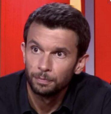 Le journaliste sportif français Damien Degorre