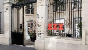 Le siège des éditions du Seuil , 27 rue Jacob, à Paris (75)