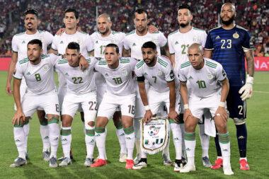 """""""Les fennecs"""" c'est à dire : l'équipe d'Algérie de football"""