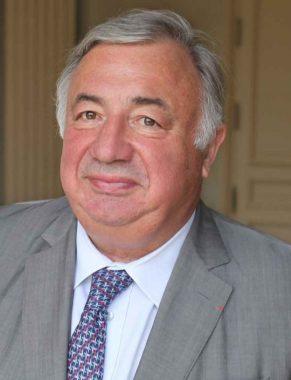 L'homme politique français, LR, Gérard Larcher, président du Sénat