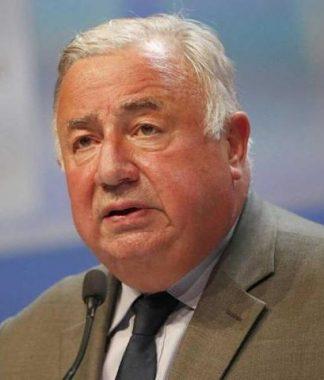 L'homme politique français, LR, Gérard Larcher, président du Sénat (© Alain Guizard Bestimage / Gala)