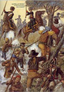 La guérilla espagnole de résistance aux troupes napoléoniennes