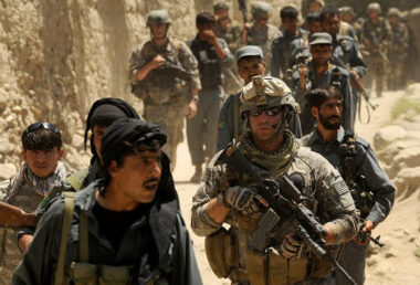 Guérilla urbaine en Afghanistan