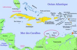 Les îles ABC (Aruba, Bonaire, Curaçao)