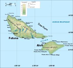 Les îles Horn : Futuna et Alofi