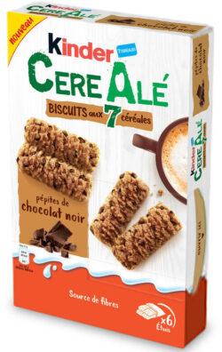 Un paquet de céréales Kinder CéréAlé