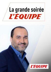 """""""La grande soirée"""", l'émission de Messaoud Benterki, sur la chaîne L'Équipe"""