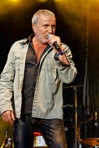 Le chanteur français Bernard Lavilliers