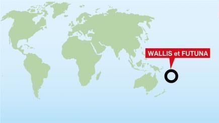 Localisation de Wallis-et-Futuna, le territoire français le plus éloigné de la France métropolitaine, à 16 000 km