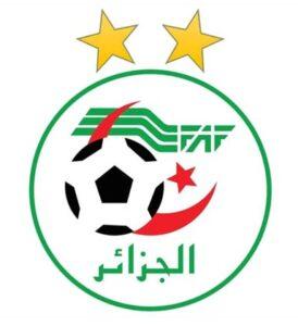 Le logotype de la FAF (Fédération Algérienne de Football), fondée en 1962