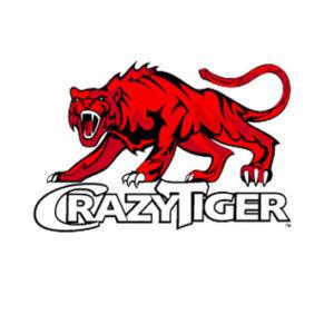 Logotype de la marque française de boisson énergisante Crazy Tiger, créée en juin 2010 par la société MC Energy, à La Farlade (83)