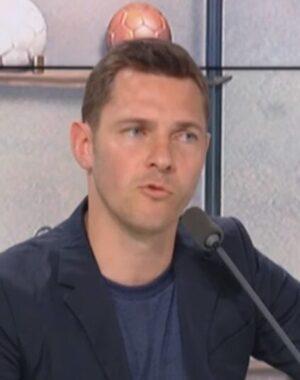 L'ancien joueur international de football franco-polonais, devenu consultant, Ludovic Obraniak