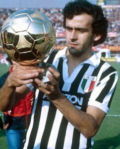 Michel Platini Ballon d'Or