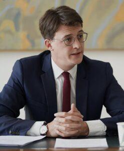 Le député français LaREM Sacha Houlié