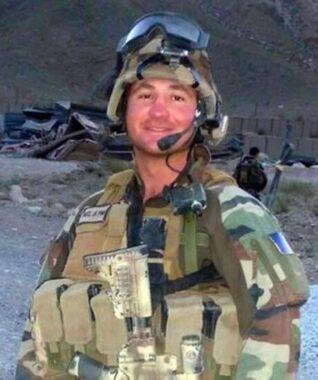 Un sergent français mort au front, en Afghanistan