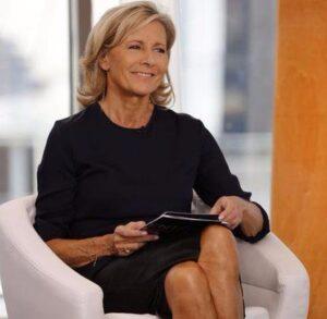 La journaliste française Claire Chazal