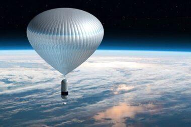 Un ballon stratosphérique