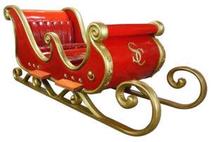 Un traîneau de Père Noël