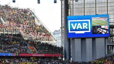 Utilisation de la VAR (Video assistant referee) : Arbitre assistant vidéo ou Assistance Vvidéo à l'arbitrage