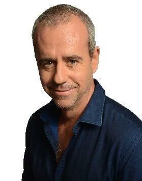 L'animateur de radio français Bruno Roblès