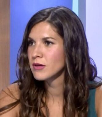 La journaliste sportive française Camille Maccali