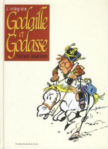 """L'intégrale de la série """"Godaille et Godasse"""", créée en 1975 par Jacques Sandron et Raoul Cauvin dans le journal """"Spirou"""" (2012)"""