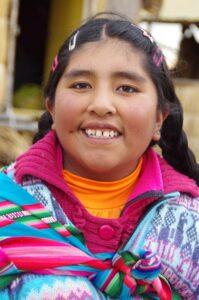 Une chilienne d'origine amérindienne
