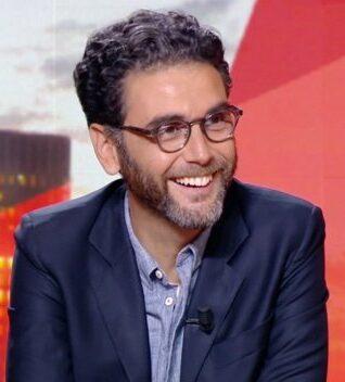 Le journaliste sportif français David Aiello