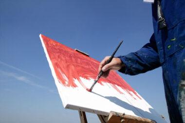 Un peintre du dimanche