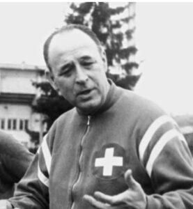 L'entraîneur autrichien Karl Rappan