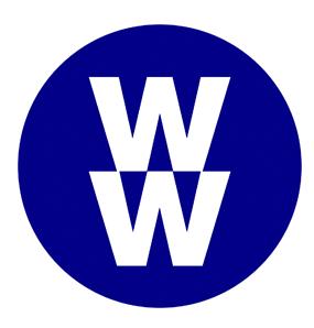 Logotype de la société états-unienne WW International Inc (anciennement Weight Watchers International, Inc)