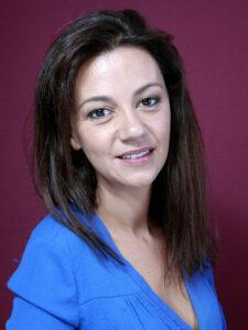 L'actrice française Marie-Julie Baup, épouse de l'acteur français Lorant Deutsch